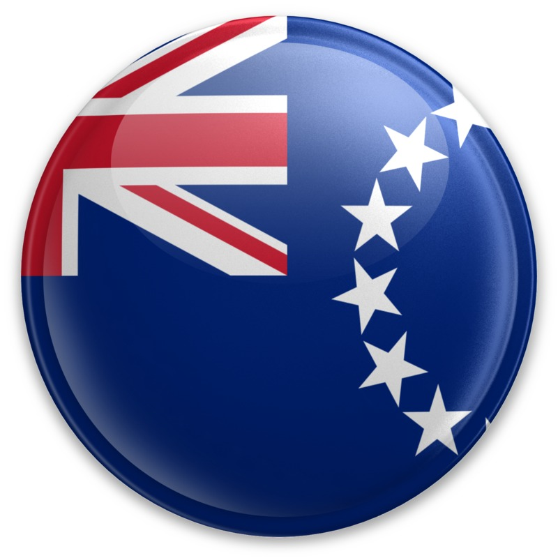 Clipart - Badge of the Cook Islands