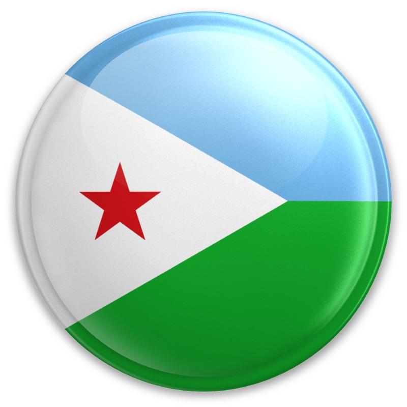 Clipart - Badge of Djibouti