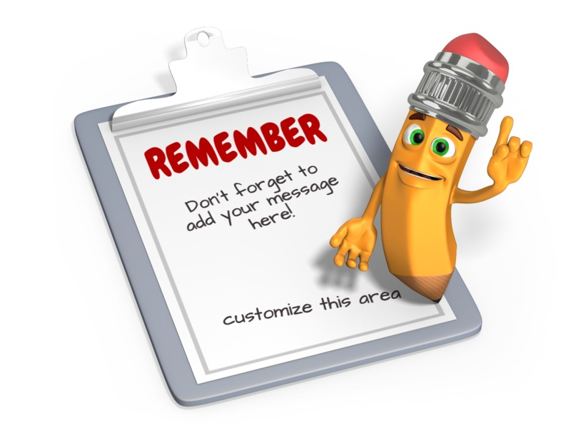 This Presentation Clipart shows a preview of Scribbles Pencil Checklist