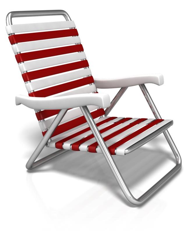 Clipart - Summer Beach Chair