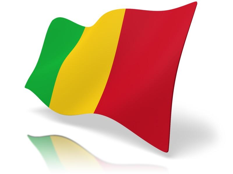Clipart - Flag Mali