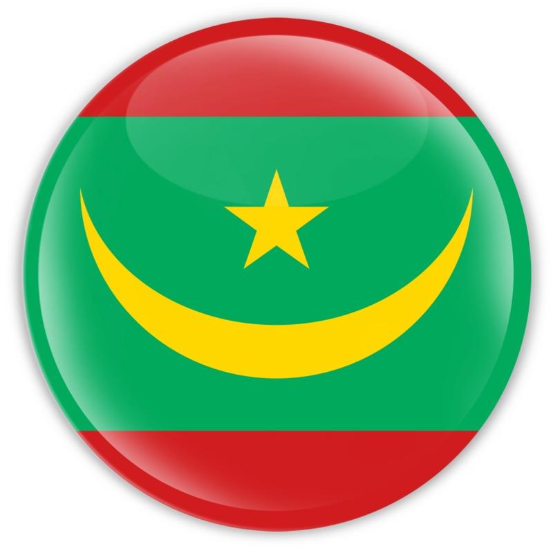 Clipart - Badge of Mauritania