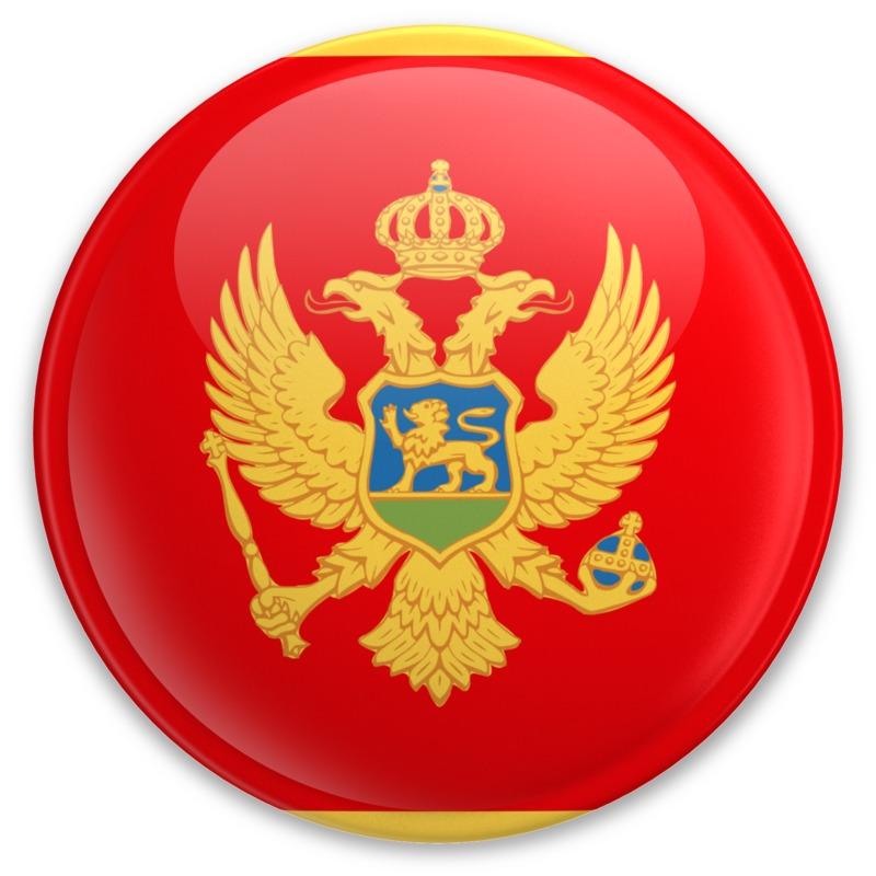 Clipart - Badge of Montenegro