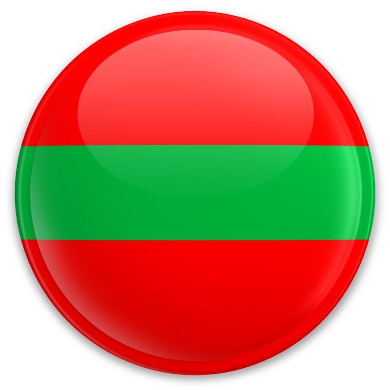 Clipart - Flag Transnistria Button