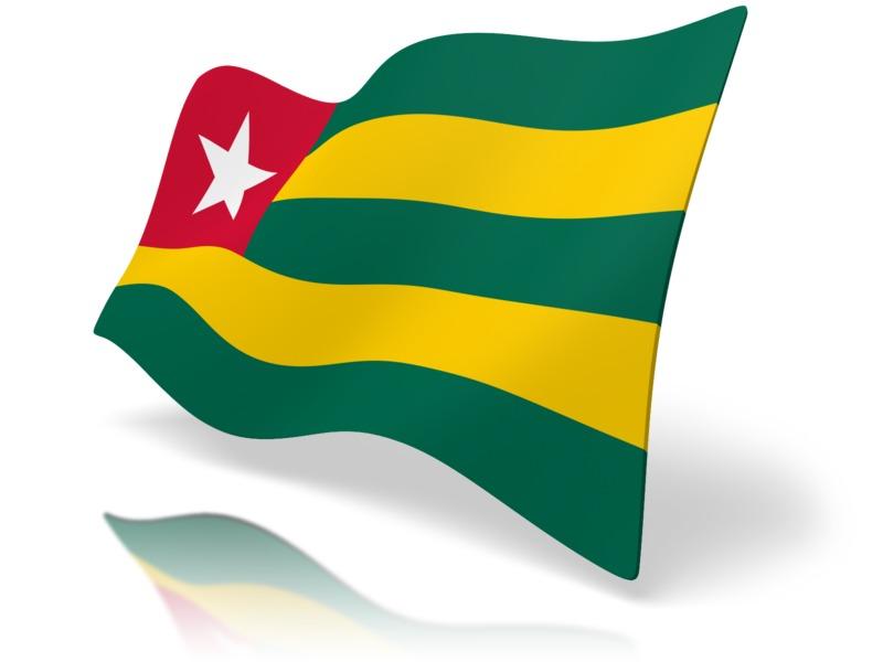 Clipart - Flag Togo