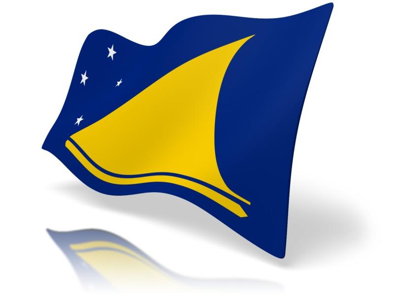 Clipart - Flag Tokelau