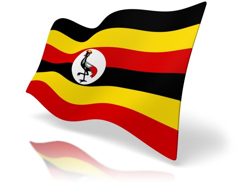 Clipart - Flag Uganda