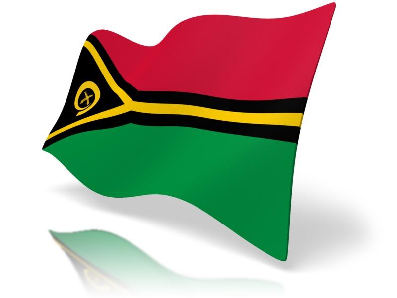 Clipart - Flag Vanuatu