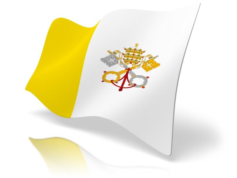 Clipart - Flag Vatican
