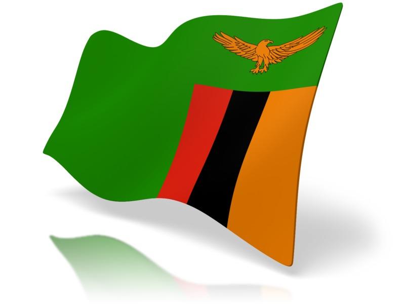 Clipart - Flag Zambia
