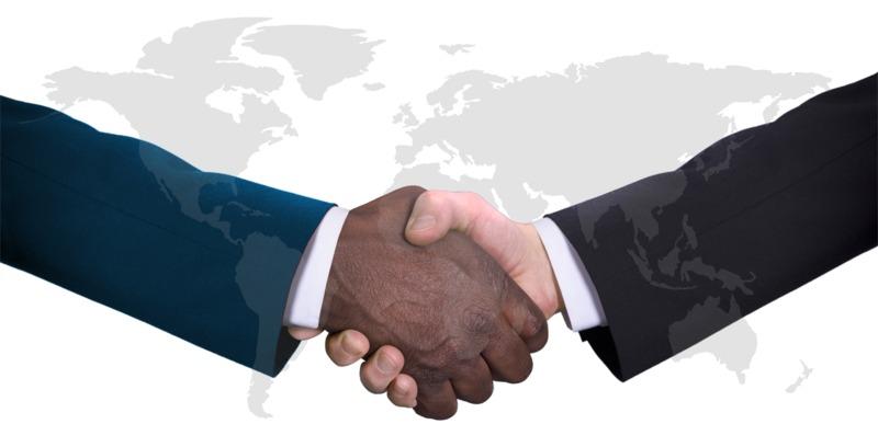 Clipart - World Diversity Handshake