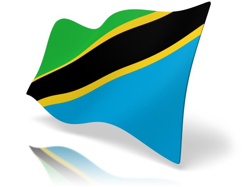 Clipart - Flag Tanzania