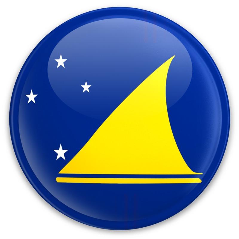 Clipart - Flag Tokelau Button
