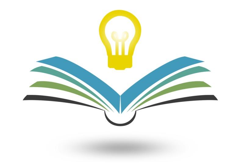 Clipart - Reading Bright Idea