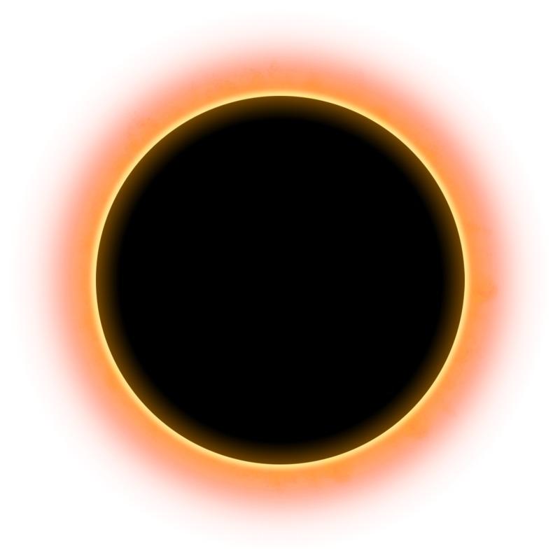 Clipart - Solar Eclispe Sky