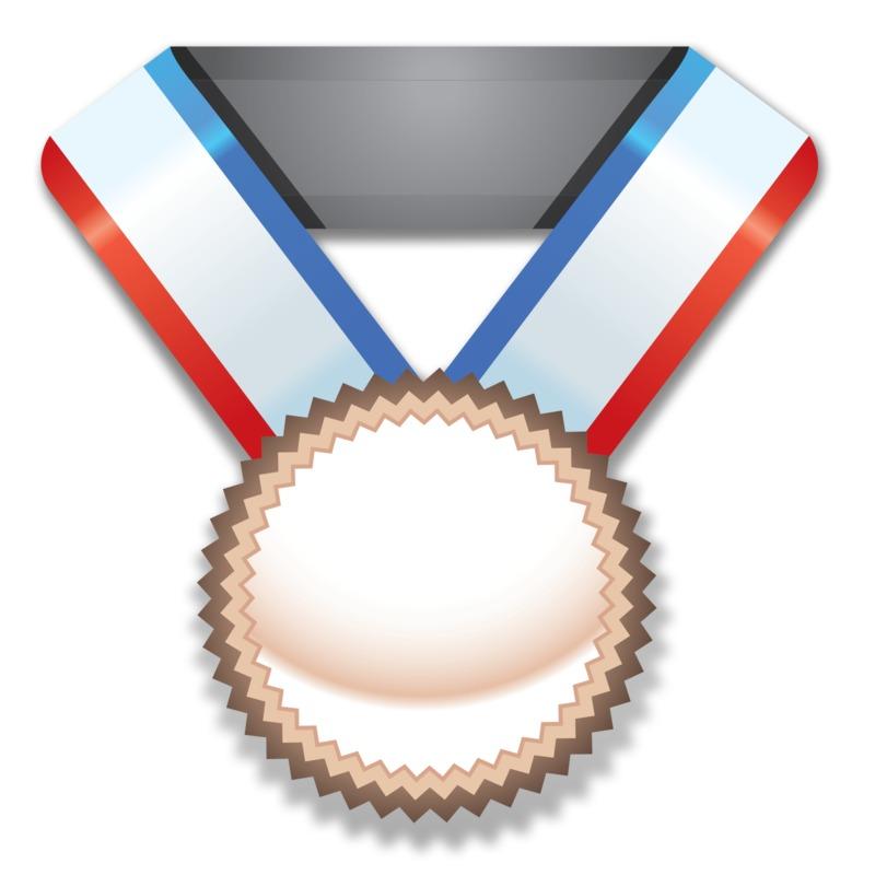 Clipart - Bronze Medal Award