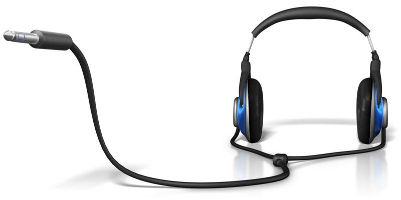 Clipart - Headphone Plug In End