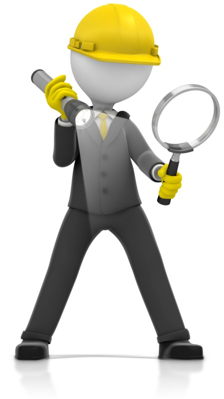 Clipart - Inspector Magnify Glass Search