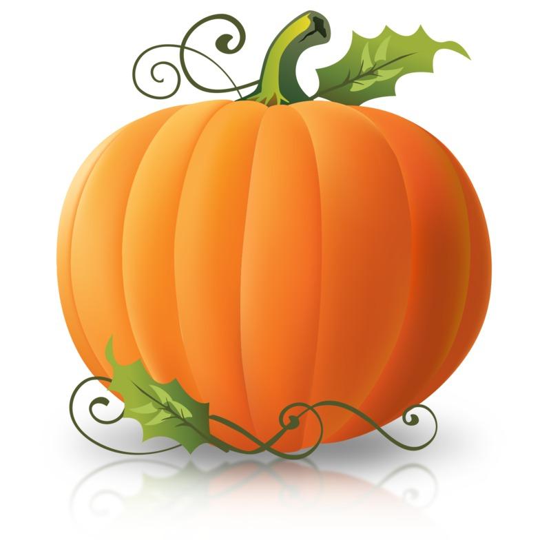 Clipart - Simple Plain Pumpkin