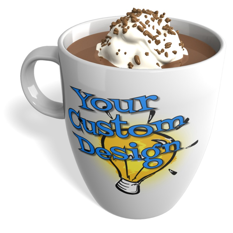This Presentation Clipart shows a preview of Hot Chocolate Custom