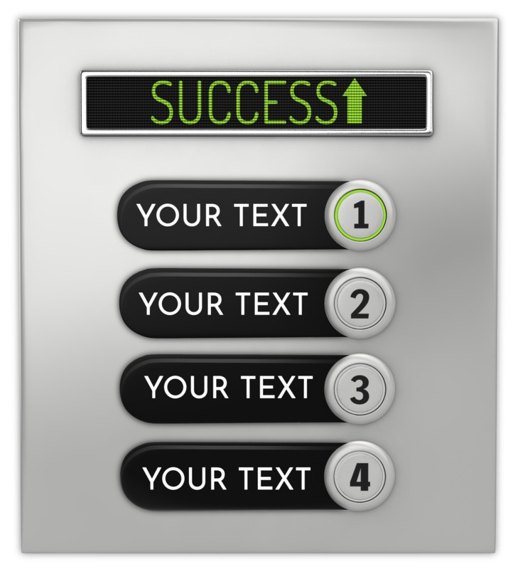 This Presentation Clipart shows a preview of Elevator Panel Custom