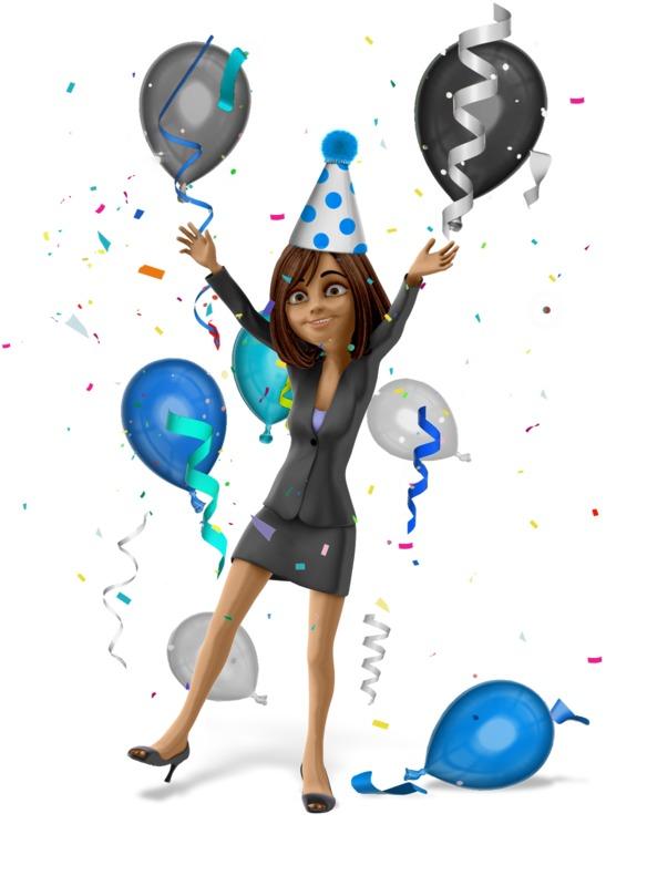 Clipart - Talia Celebrate Party