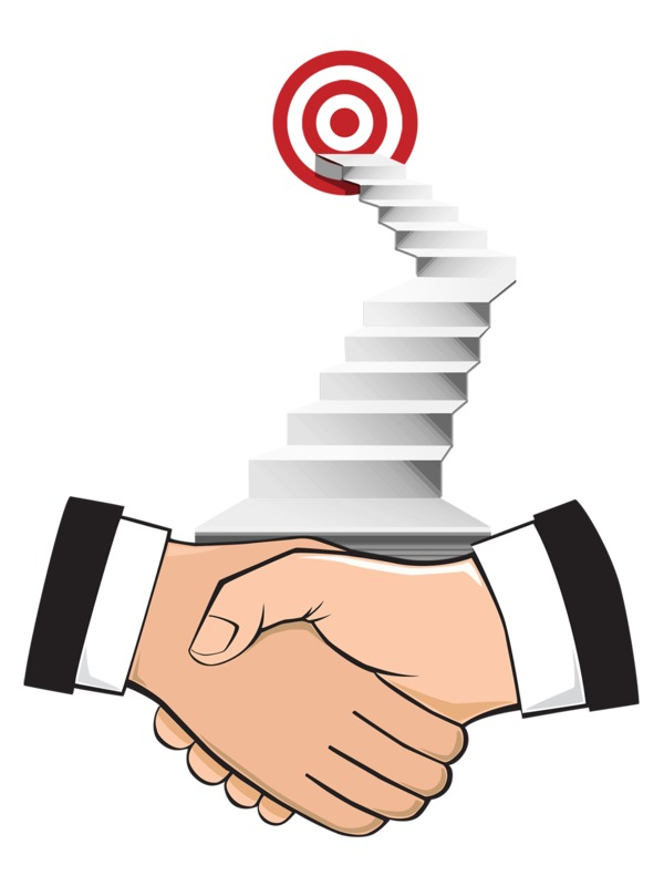 Clipart - Agreement With A Goal