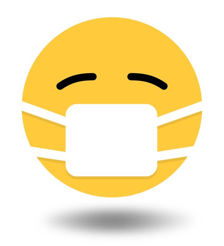 Clipart - Emoji Virus Mask