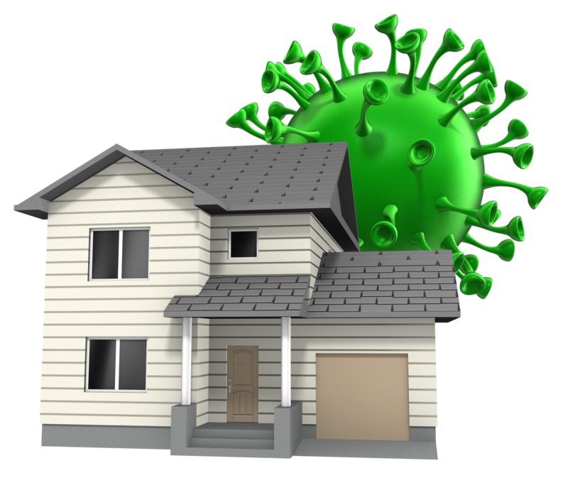Clipart - House Giant Virus
