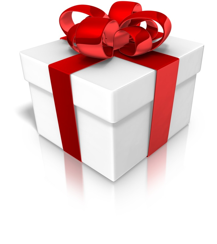 Clipart - Closed Wrapped Present Gift