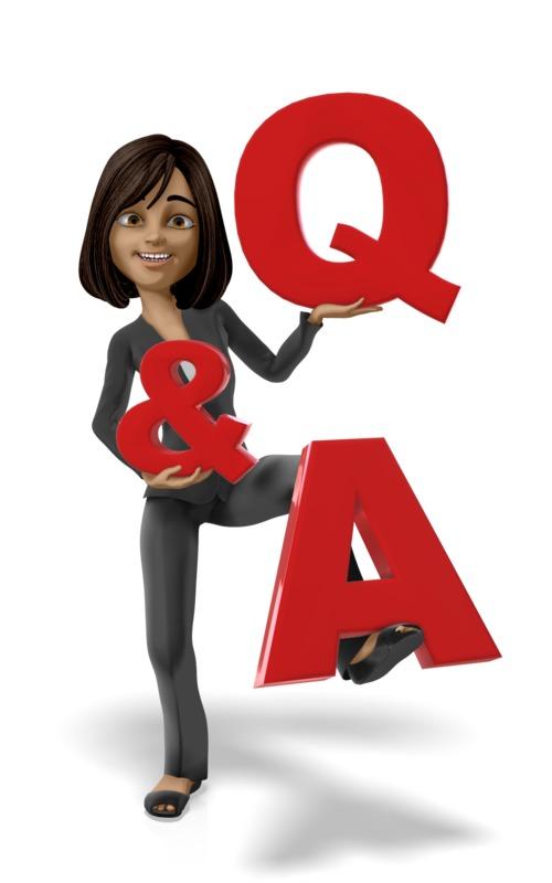 Clipart - Businesswoman Figure QA