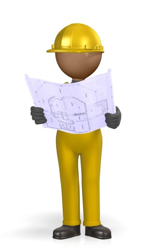 Clipart - Construction Figure Foreman