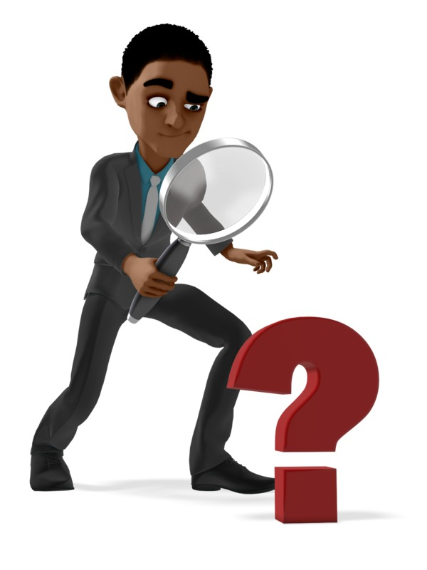 Clipart - Ethan Searching For Answers