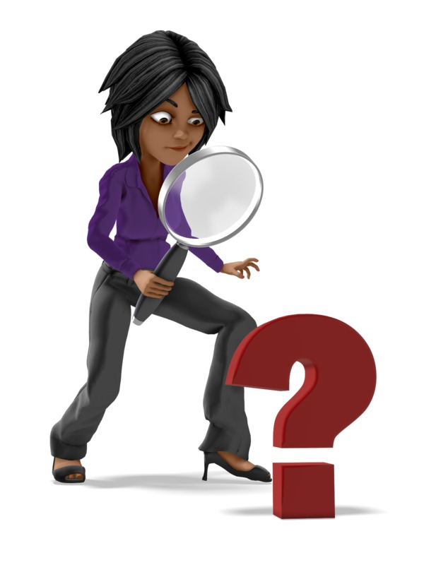Clipart - Jada Searching For Answers