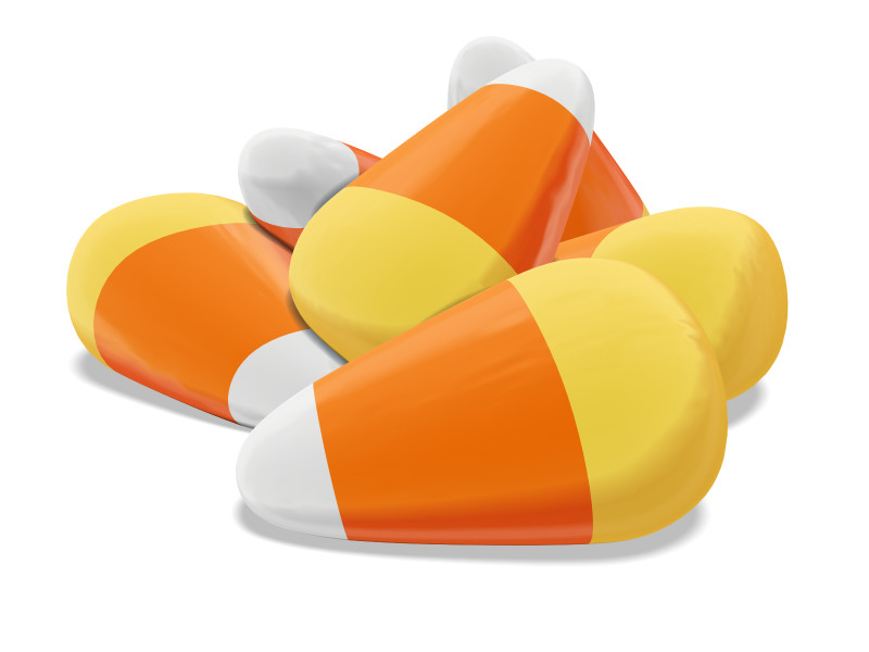 Clipart - Candy Corn