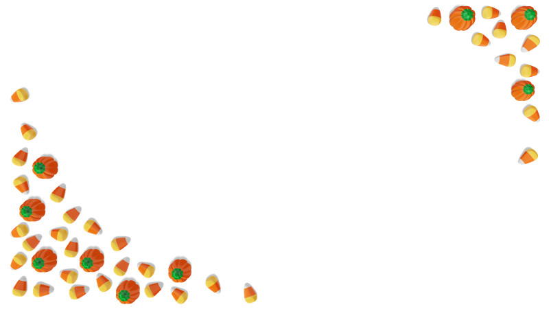 Clipart - Fall Candy Border
