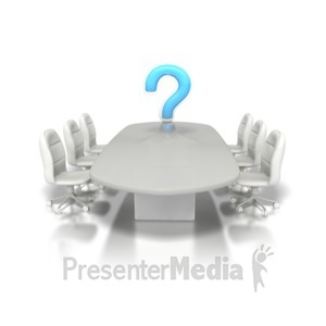 ID# 1245 - Conference Question - Presentation Clipart