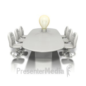 ID# 1246 - Conference Idea - Presentation Clipart