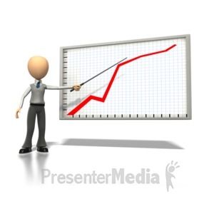 ID# 1298 - Graph Explanation  - Presentation Clipart