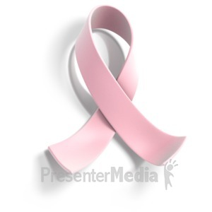 ID# 1399 - Pink Ribbon Awareness - Presentation Clipart
