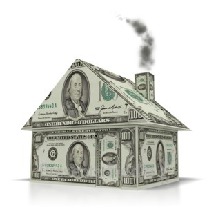 ID# 1823 - Money House  - Presentation Clipart