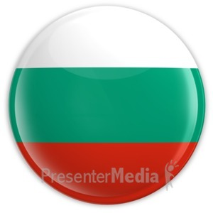 ID# 2036 - Badge of the Bulgarian Flag - Presentation Clipart