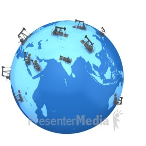 ID# 2392 - Eastern World Oil  - Presentation Clipart