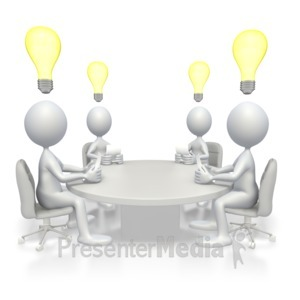 ID# 2913 - Conference Idea - Presentation Clipart