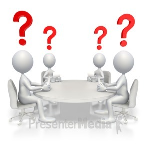 ID# 2914 - Conference Questions - Presentation Clipart