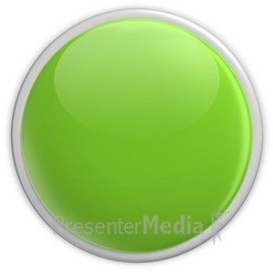 ID# 2957 - Badge Blank Button Green - Presentation Clipart