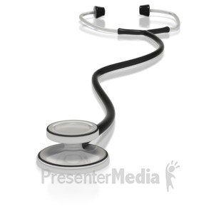 ID# 3014 - Stethoscope - Presentation Clipart