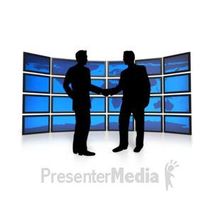 ID# 3266 - World Business Agreement - Presentation Clipart