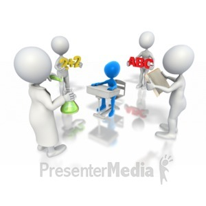 ID# 3388 - Teaching Collaboration - Presentation Clipart