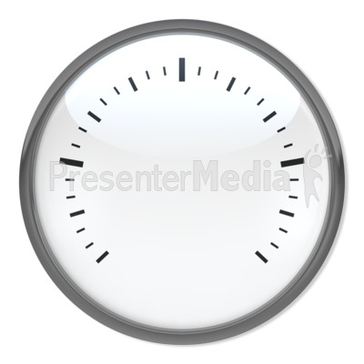 blank speedometer - signs and symbols - great clipart for